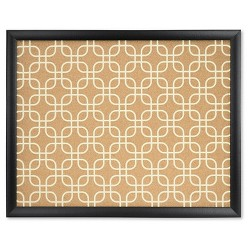 "Ubrands Framed Designer Cork Board - 16"" x 20"""