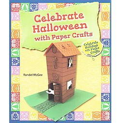 Celebrate Halloween With Paper Crafts (Paperback) (Randel McGee)