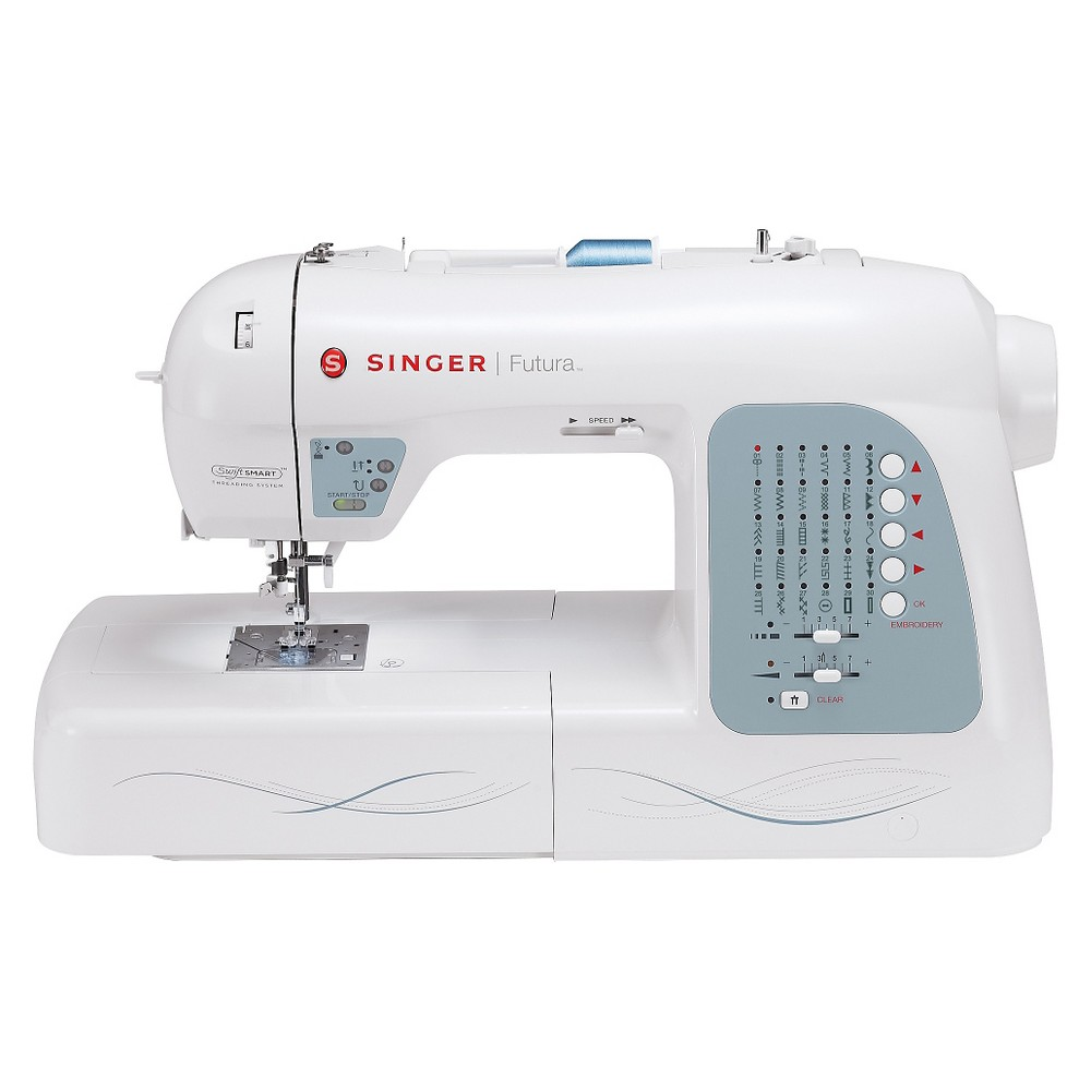 SINGER SEWING CO. And Embroidery Machine, White