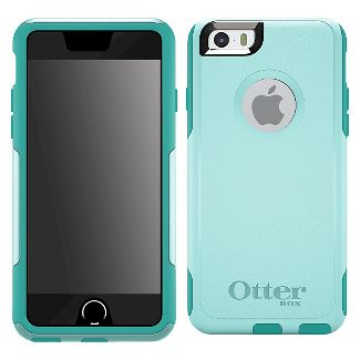 OtterBox Commuter Wallet Apple iPhone 6 - Back cover for cell phone - polycarbonate - aqua sky - for Apple iPhone 6