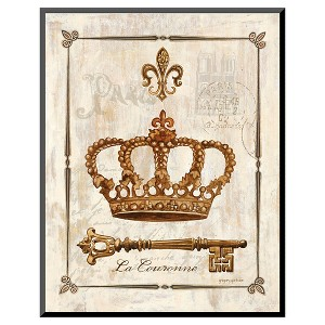 Art.com - La Couronne by Gregory Gorham - Mounted Print, Brown
