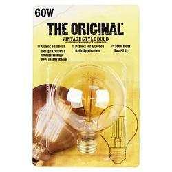Feit 60-Watt Vintage G25 Globe Incandescent Light Bulb - Soft White