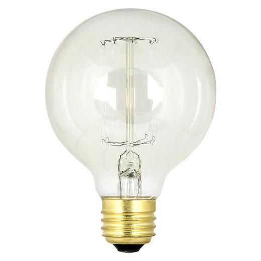 Feit 60 Watt Vintage G25 Globe Incandescent Light Bulb Soft White Target