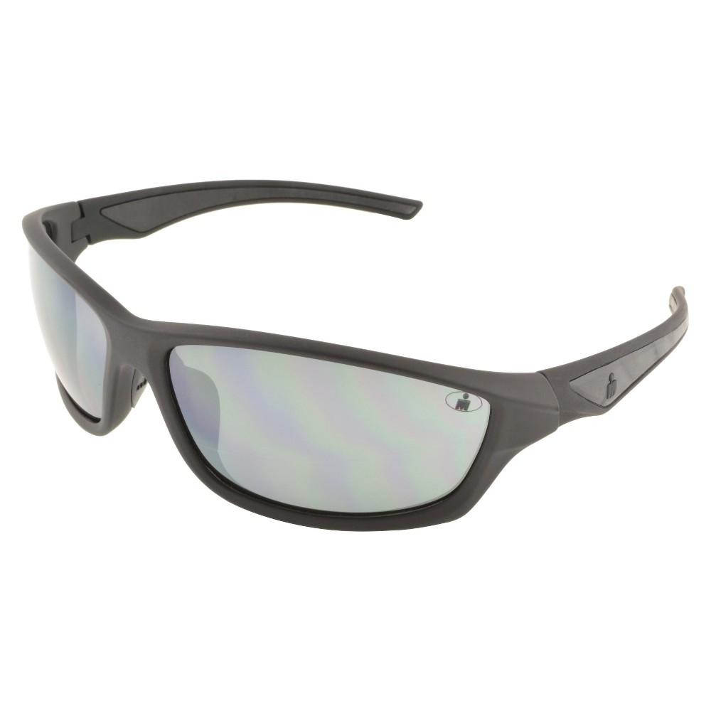 Mens Ironman Shatter Resistant Lens Sunglasses - Black