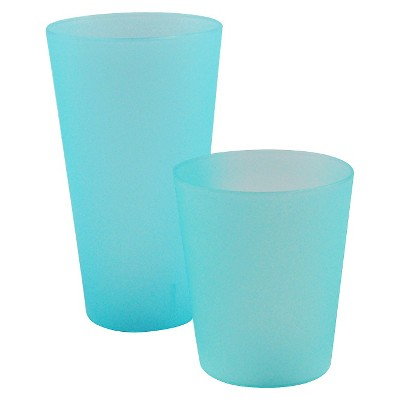 Room Essentials™ Large & Short Frosted Tumbler - Turquoise