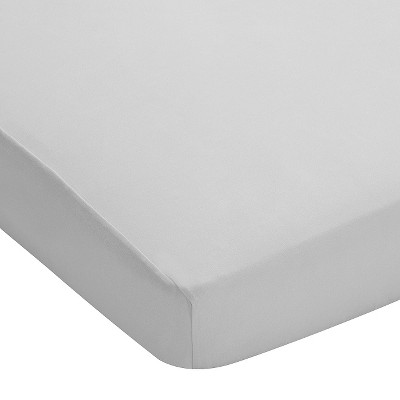 Breathable Baby® Plus Fitted Crib Sheet - Gray Mist