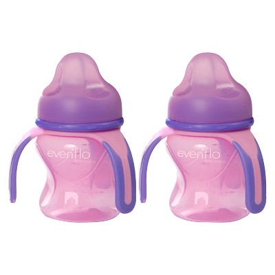 Evenflo® Advanced Trainer Sippy Cup - 5 Oz (2 Pack)Pink