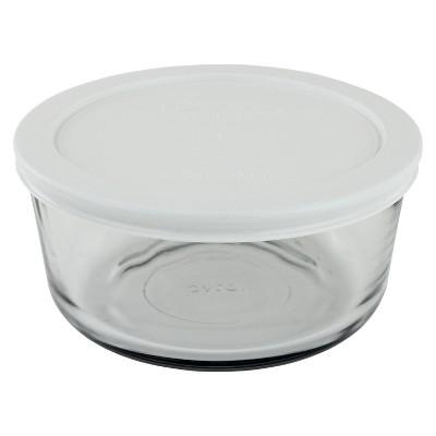 Pyrex Storage Plus White 4 cup Round