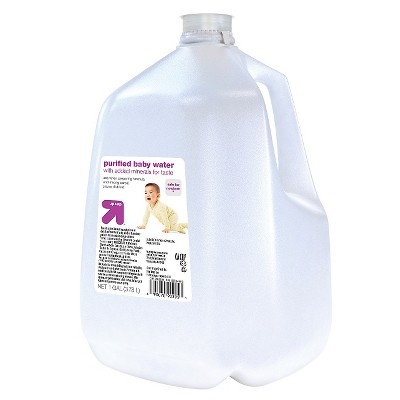 Baby Water, Purified - 128oz - up & up™