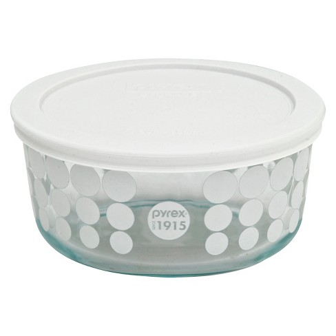 Pyrex 100 Year Decorated Storage 4 Cup - White - image 1 of 1
