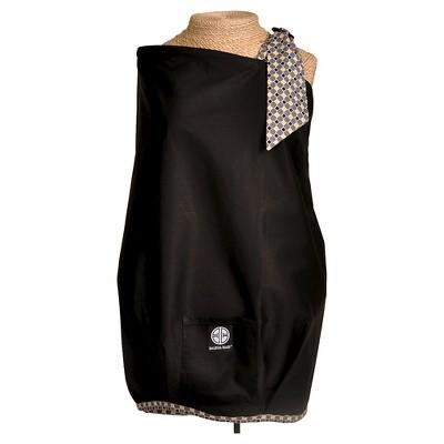 Balboa Baby Nursing Cover-Black with Diamond Trim