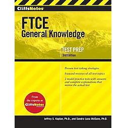 CliffsNotes FTCE General Knowledge Test (Paperback) (Jeffrey S. Kaplan)