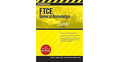 CliffsNotes FTCE General Knowledge Test (Paperback) (Jeffrey S. Kaplan) - image 1 of 1