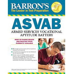 Barron's ASVAB : Armed Services Vocational Aptitude Battery (Revised) (Paperback) (Terry L. Duran)
