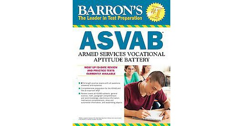 Barron's ASVAB : Armed Services Vocational Aptitude Battery (Revised) (Paperback) (Terry L. Duran) - image 1 of 1