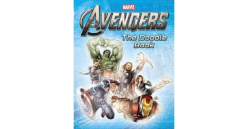 Marvel's the Avengers : The Doodle Book (Paperback) (Emily C. Hughes) - image 1 of 1