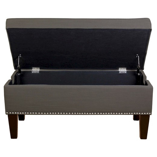 loved 732 times 732 - Storage Ottoman With Nailheads - Threshold™ : Target