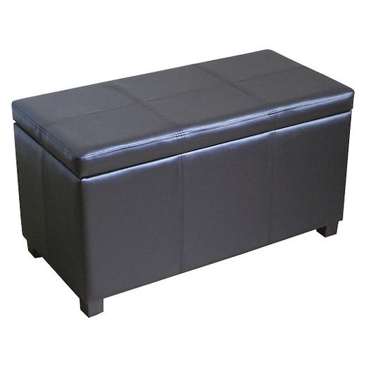 Storage Ottoman Brown - Threshold™ - Storage Ottoman Brown - Threshold™ : Target