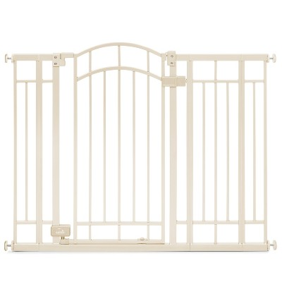 Summer Infant® Walk Thru Deco Extra-Tall Baby Gate (Beige Metal)