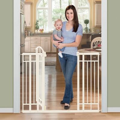 Summer Infant® Walk Thru Deco Extra Tall Baby Gate (Beige Metal)