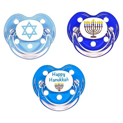 MeaMagic Hanukkah Pacifier Set