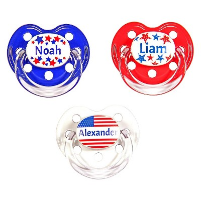 MeaMagic Boy America Pacifier Set