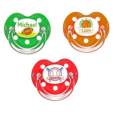 MeMagic Boy Sports Pacifier Set