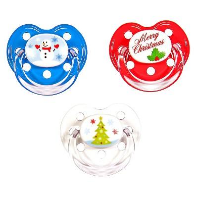 MeaMagic Christmas Pacifier Set