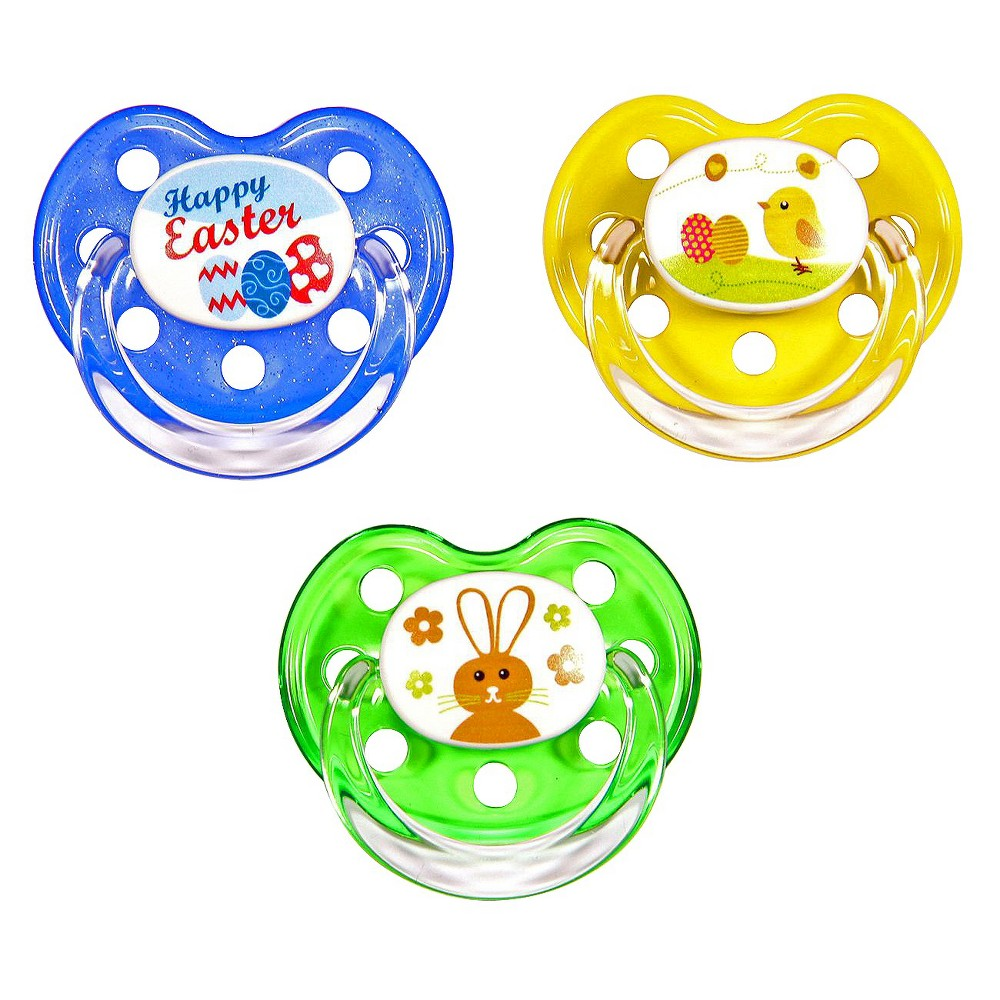 MeaMagic Easter Pacifier Set, Multi-Colored