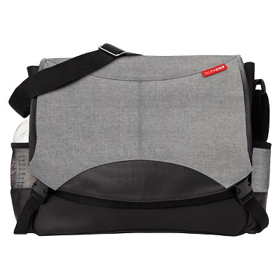 Skip Hop Swift Changing Station Diaper Bag - Heather Gray