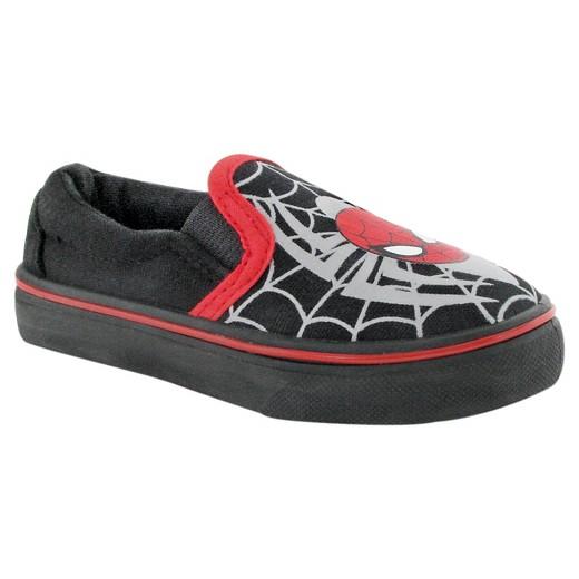 toddler boys spider canvas shoes black 9 target