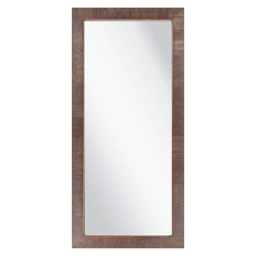 Decorative Wall Mirrors At Target : Rectangle chatwyn decorative wall mirror walnut surya