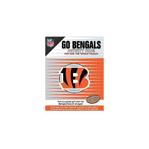 Go Bengals Activity Book (Paperback)