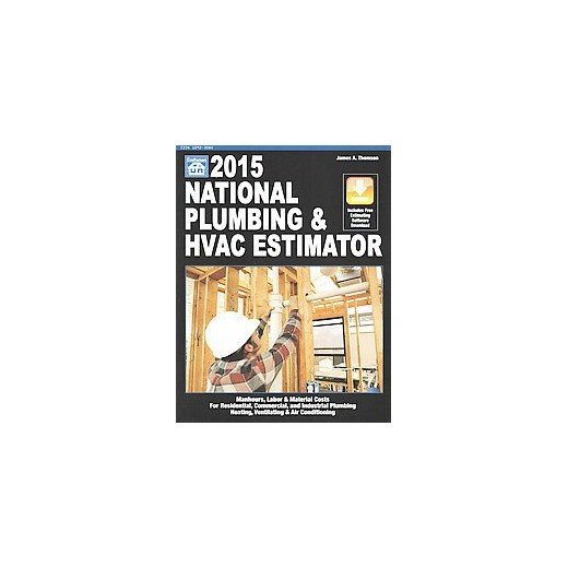 national plumbing hvac estimator 2015 paperback james a thompson