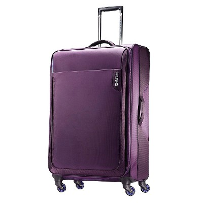 American Tourister Applite 28  Spinner Luggage - Purple