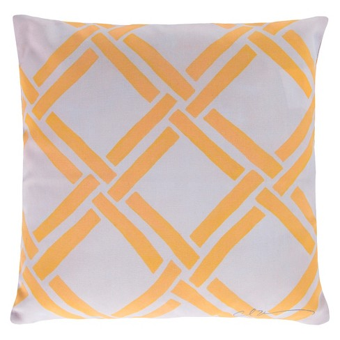 Rimini Coastal Indoor/Outdoor Throw Pillow - Surya® - image 1 of 1