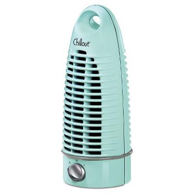 Mini Chillout Tower Fan- Eggshell Blue