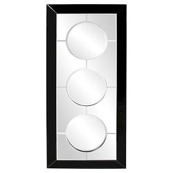 Rectangle Trifecta Decorative Wall Mirror - Howard Elliott