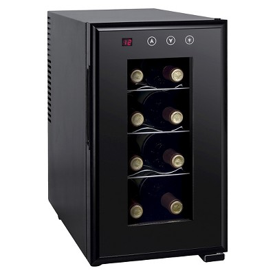 Sunpentown 8-Bottle Thermo-Electric Wine Cooler - Black WC-0888H