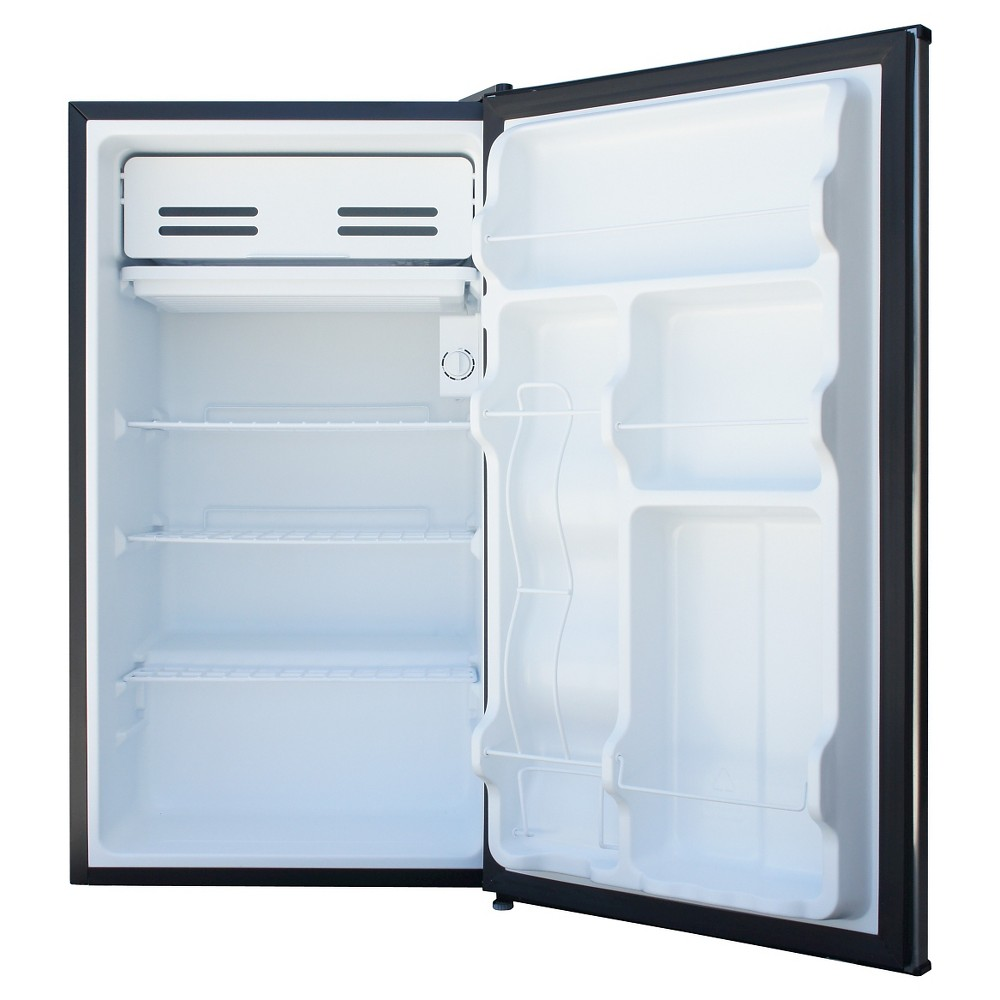 Whirlpool 4 3cu Ft Mini Refrigerator Stainless Steel