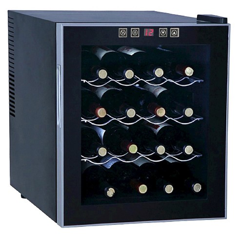 Sunpentown 16-Bottle Thermo-Electric Wine Cooler - Black WC-1682 - image 1 of 1