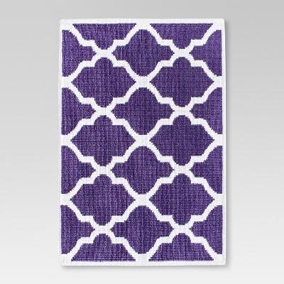 Woven Bath Mat - Grape Fizz (21x30 )- Threshold™