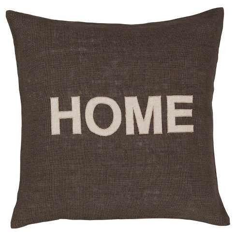 "Olive Home Throw Pillow 22""x22"" - Surya® - image 1 of 2"