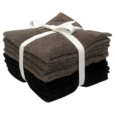 8-pk. Solid Textured Washcloth Set - Room Essentials™