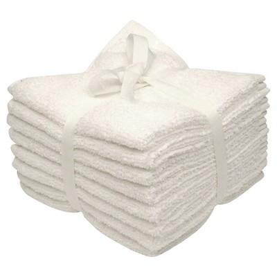 8-pk. Solid Textured Washcloth Set - Room Essentials™