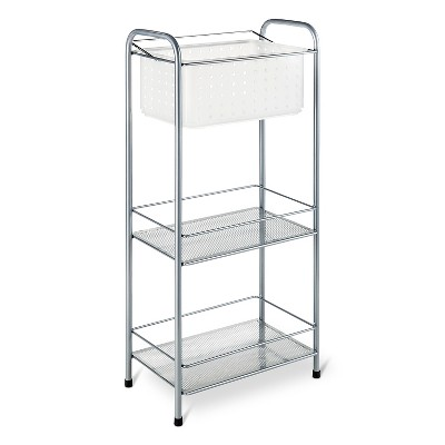 Bath Storage Racks with Removable Tote Frost - Room Essentials™