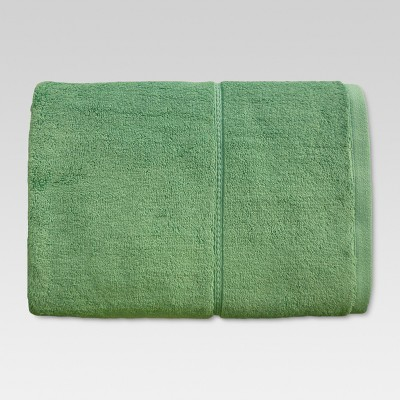 Botanic Solid Bath Sheet Batik Green - Threshold™