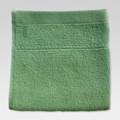 Botanic Solid Washcloth Batik Green - Threshold™