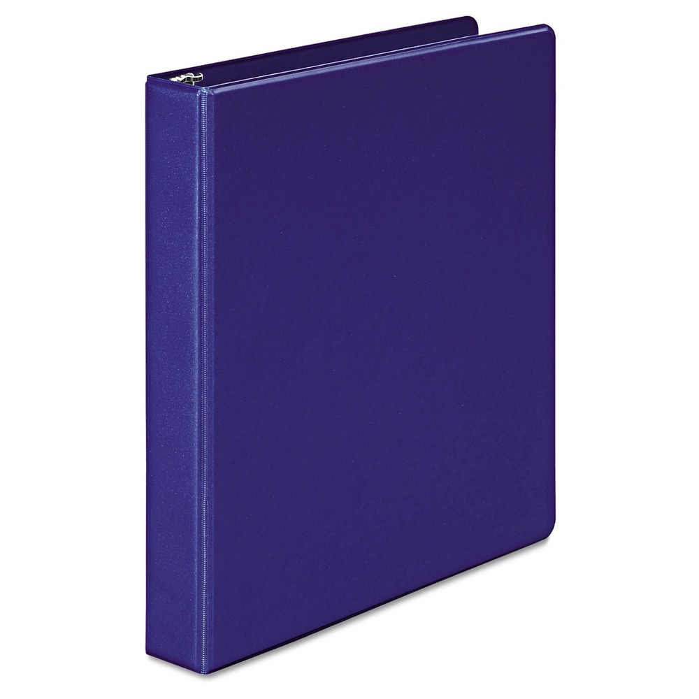 Wilson Jones 368 Basic Round Ring Binder1 CapBlue, Dark Blue