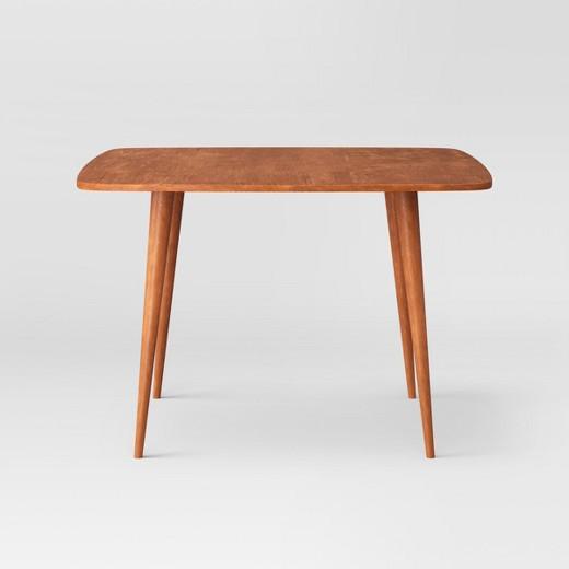 porter mid century modern dining table target